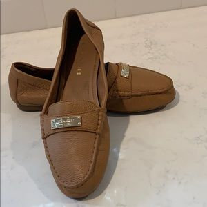 Coach Shoes - Coach leather driving moccasins size 7.5